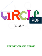 Circle (Terms and Definition)
