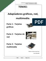 Tema5 - Gráfica, tarjeta de red y multimedia