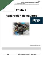 TEMA 07 - Reparacion de Equipos - MME