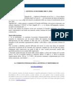 Fisco e Diritto - Corte Di Cassazione n 25824_2009