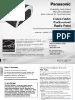 Manual Panasonic RC DC1EG K