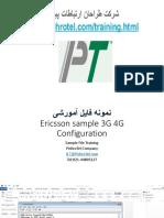 1 3G 4G ERICSSON Comisionamiento Sample - Part 1