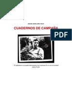 Cuadernos de campaña