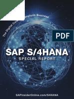 SAPinsiderS4HANA ReportReprintrenumberedfor webcover
