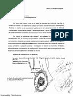 Carta de Mauro Libi