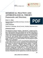 HAHN & KLEINMAN. Biomedical Practice and Anthropological Theory