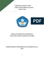 BAHASA INGGRIS SMP KELAS VII 2016 .doc