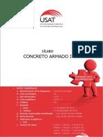 Silabo Concreto Armado i Ing. Civil - 2016 - II