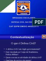 Palestra Defesa Civil Na Escola