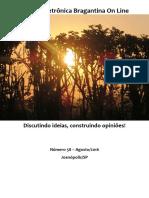 Revista Eletrônica Bragantina On Line - Agosto/2016