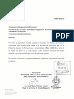 Solicitud Información USR 0189 2016