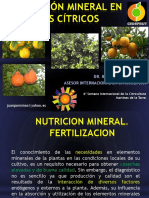 Manejo y Cultivo de Los Cítricos, Nutrición y Fisiología