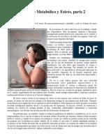 Sindrome Metabolico y Estres II