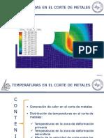 T4 Temperaturas en El Corte de Metales