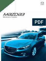 797b2 Mazda3 Manual Para El Propietario 8DZ9-SP-15J OM