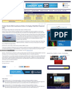 """Stratix Works With Southwest to Deploy iPad Mini-Powered EFBs,"" Aero-News Network, August 2016"