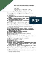 Métodos y Prácticas Usadas Por Manuel III Para Enseñar Niños