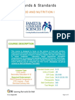 foodnutritioni strands and standards