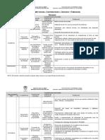 Competencias Criterios Evidencia 2015