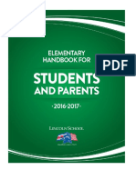 elementary handbook student - parents 2016 - 2017 last version pdf
