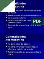 Atomoxetina vs Metilfenidato