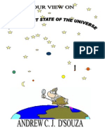 Our View on the Present State of the Universe