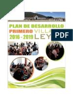 PDM - Primero Villa de Leyva - 2016-2019