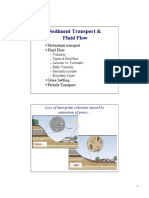 LECT3 Sediment Transport and Fluid Flow