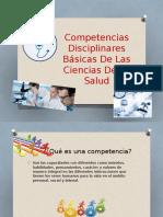 Competencias Disciplinares Básicas de Las Ciencias de La
