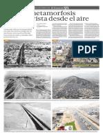 La gran metamorfosis de Lima vista desde el aire