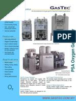 GasTec as Series PSA Oxygen Plant