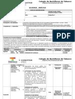 SECUENCIA DIDACTICA_INFORMATICA I Ing. Miguel Angel Martinez de La Cruz