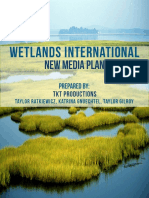 new media plan for wetlands international