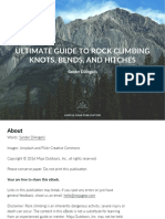 Ultimate Guide to Rock Climbing Knots, Bends, And Hitches