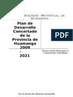 PDC HUAMANGA 2021