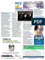 Pharmacy Daily for Fri 19 Aug 2016 - Epic innovation awarded, Webster pack tampering, NZ to consider morning after pill, Events Calendar and much more