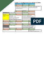 1st grading period pre-ap geometry vocabulary calendar