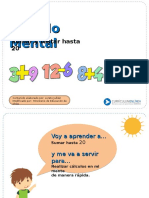 CALCULO  MENTAL.ppt