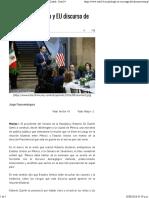 10-08-16 Riesgo Para México y EU Discurso de Trump