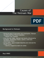 vietnam war causes