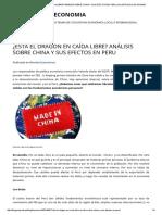 ¿Está El Dragon en Caída Libre_ Análisis Sobre China y Sus Efectos en Peru _ El Arte de La Economia