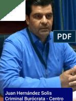 EXTORCION - ABUSO DE AUTORIDAD - AMENAZAS - ALLANAMIENTO DE MORADA - PREPOTENCIA CRIMINAL POR PARTE DE DIR. DEL CENTRO HISTORICO - ZONA LUZ, en VILLA HERMOSA, TABASCO - JUAN HERNANDEZ SOLIS y GATOS DE REGLAMENTO