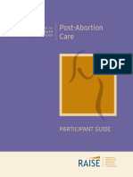 post abortion care participant guide