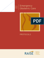 emergency obstetric carec protocols