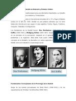 Historia de La Fundacion de La Gestalt en Alemania y Sus Conceptos Explicados