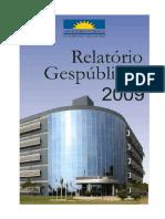 Relatorio de Gestao -Gespublica