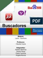 Exposicion Buscadores Web Lecto- Escritura