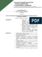 3. 8.1.3. Sk Kapus Tentang Waktu Penyampaian Laporan Hasil Pemeriksaan Lab