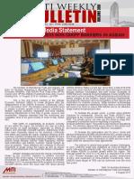 MITI Weekly Bulletin Volume 398 - 08 August 2016