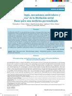Mecanismo Molecular de La FA